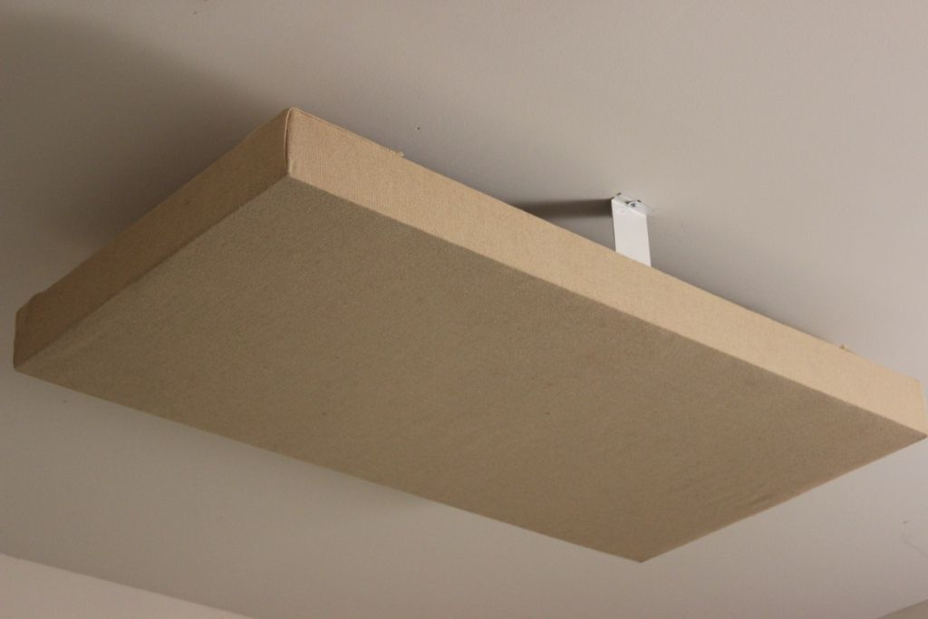 Acoustic Panel Ceiling Cloud Mounting Brackets C Acoustic Panels Acoustic Panels Diy Room Acoustics