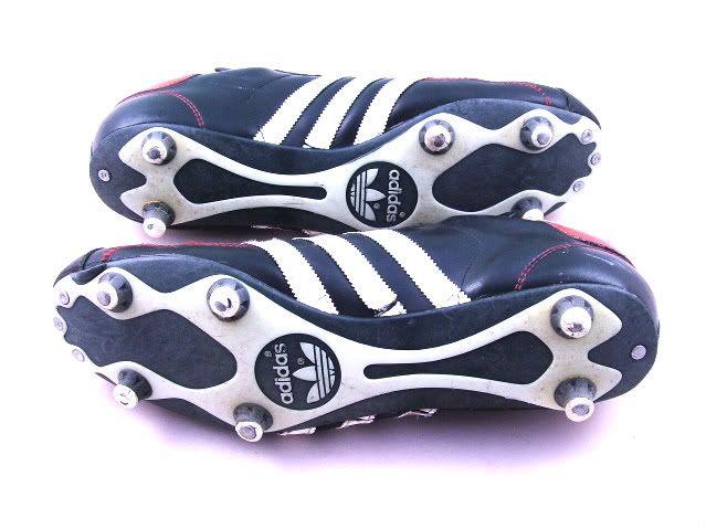 Pezzey Vintage Adidas futbol botas de futbol / 45 raros de los años 80