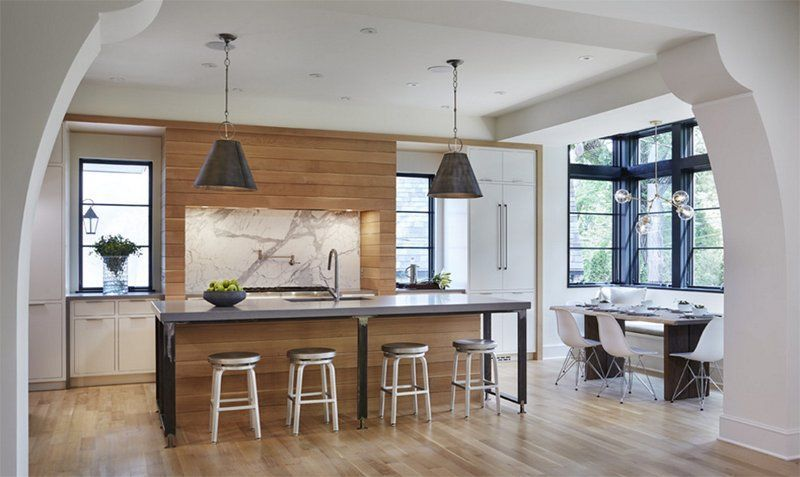 25 Warm White and Wooden Kitchen Designs # ...