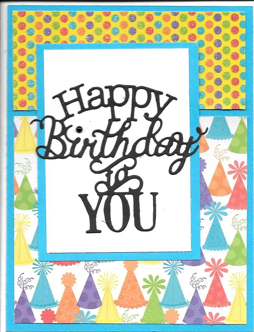Birthday card idea rebeccaus card patch in pinterest card