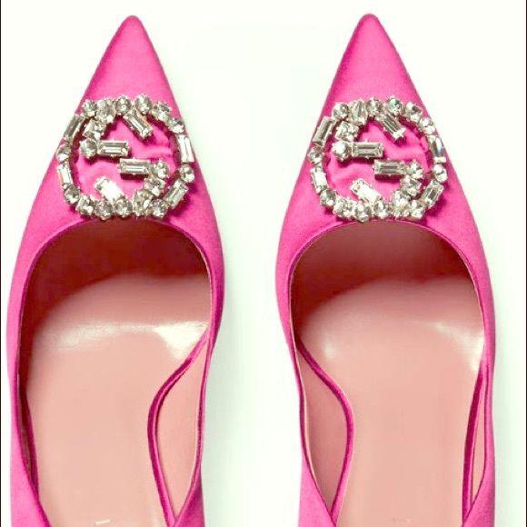 Gucci satin pink pumps Memorial Day sale 🇺🇸 | Pink pumps, Gucci ...
