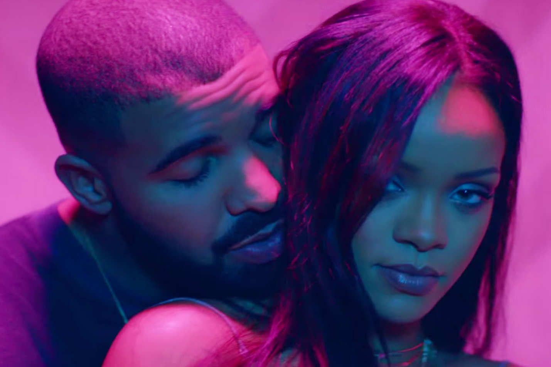 Rihanna and Drake work work work.