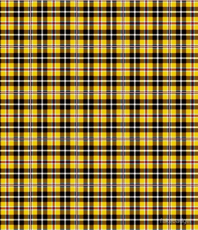 'Cher's Iconic Yellow Plaid' Mini Skirt by fakebadger