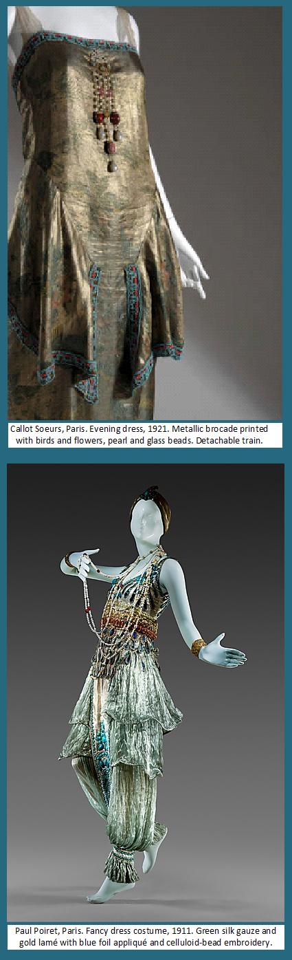 Orientalism in Parisian fancy-dress