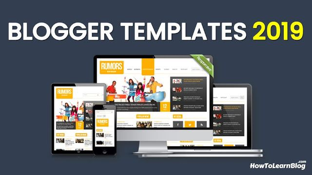Top 10 Free Blogger Templates 2020 Free Blogger