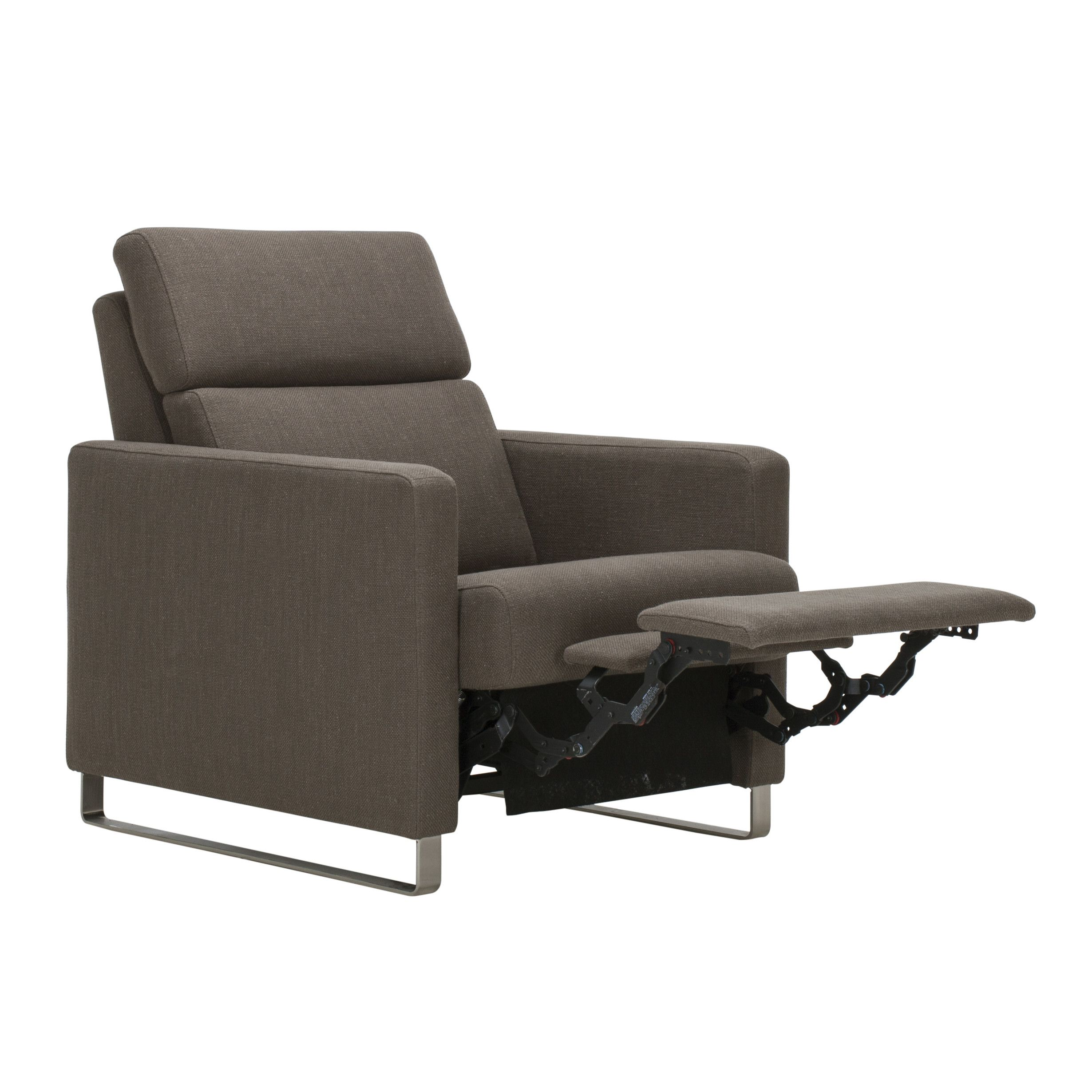 Wondrous Eq3 Lawrence Recliner In Urban Plum House Home Ncnpc Chair Design For Home Ncnpcorg