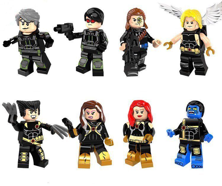 X-men DEADPOOL /& WOLVERINE Custom Brick Lego Compatible Minifigures UK shipping