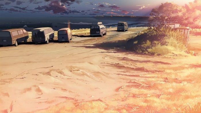 #sunlight, #beach, #anime, #5 Centimeters Per Second, #