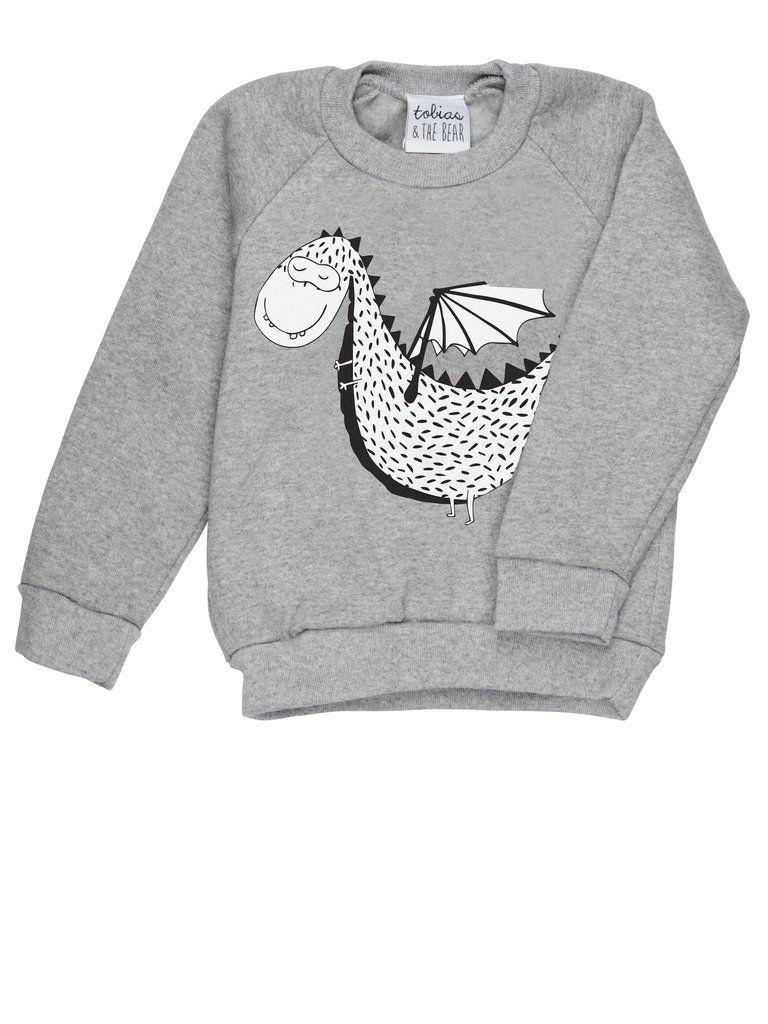 4bc8bc45 Tobias & the Bear Duke The Dragon Sweatshirt   Scandinavian Fashion ...