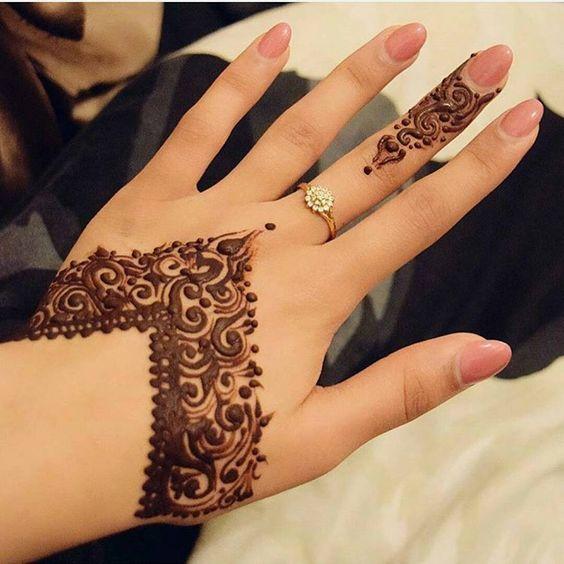 صور نقوش حناء صحراويه 2016 10 Mehndi Henna Desain Henna