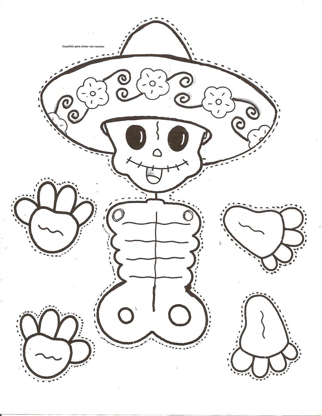 Dibujos-para-colorear-el-día-de-los-muertos-63.jpg (1240×1600 ...