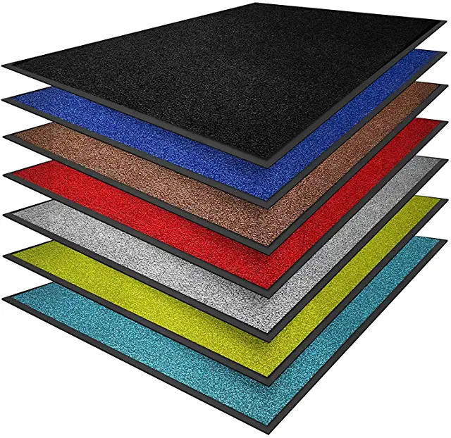 Amazon Co Uk Black Doormats Inside Door Mat Black Inside