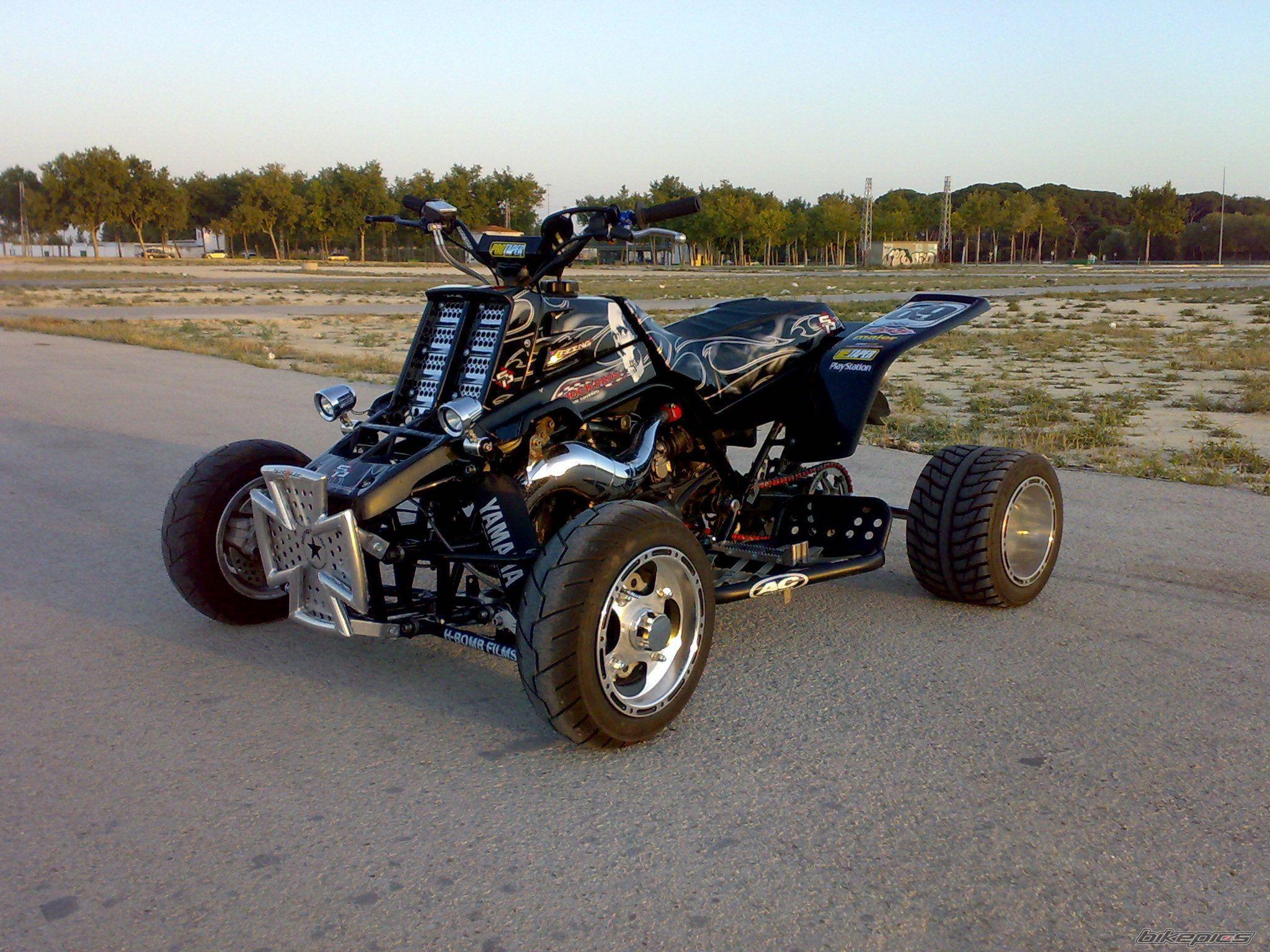 Yamaha Banshee Atv Quad Offroad Motorbike Bike Dirtbike Hot Rod