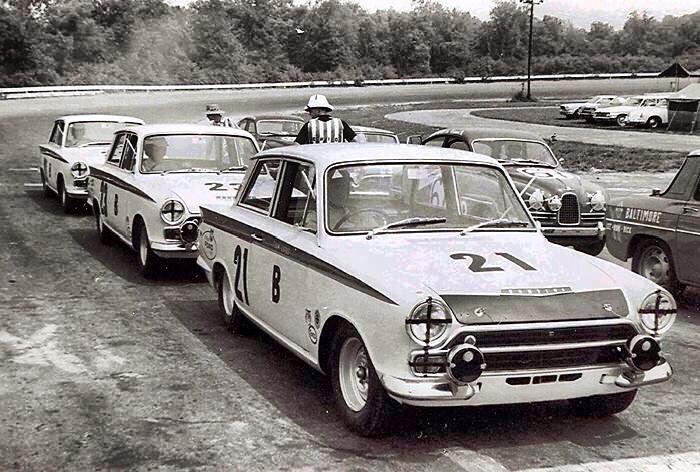 Part Of The Under 2 L Group At Marlboro 1966 Sports Car Racing