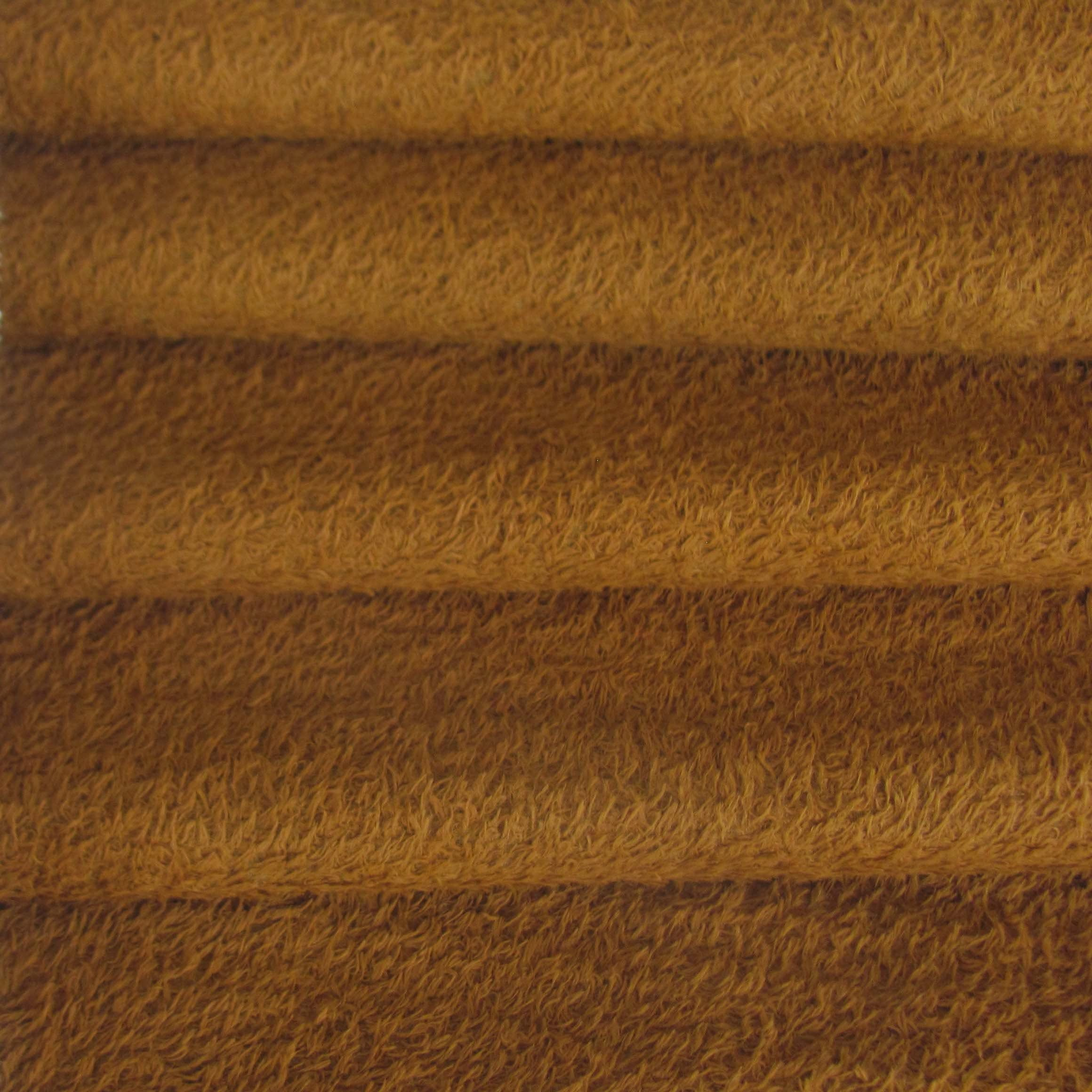 Dense Curly Matted Viscose Fabric 1//6 yd VIS1//SCM Honey Tan INTERCAL 6mm Med