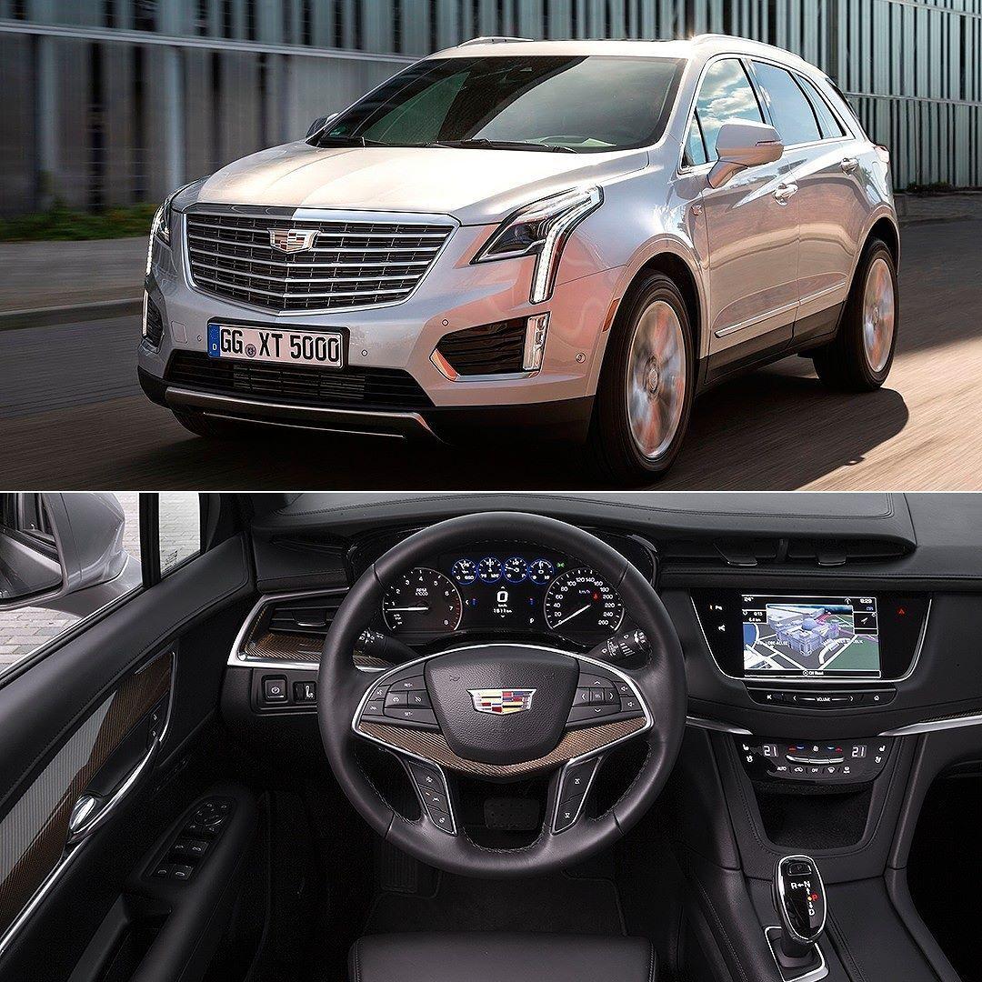 Cadillac Crossover Suv: Cadillac XT5 2017 Mais Um Modelo Da Marca De Luxo