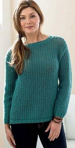 "Пуловер ""Starboard Sweater"" от Erika Knight.. Обсуждение на LiveInternet - Российский Сервис Онлайн-Дневников"