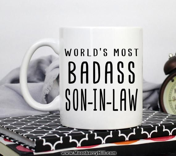 Son In Law Mug Gift For Christmas Birthday Funny