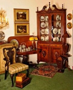 Irish Acres Antiques and the Glitz restaurant are real treasures in
