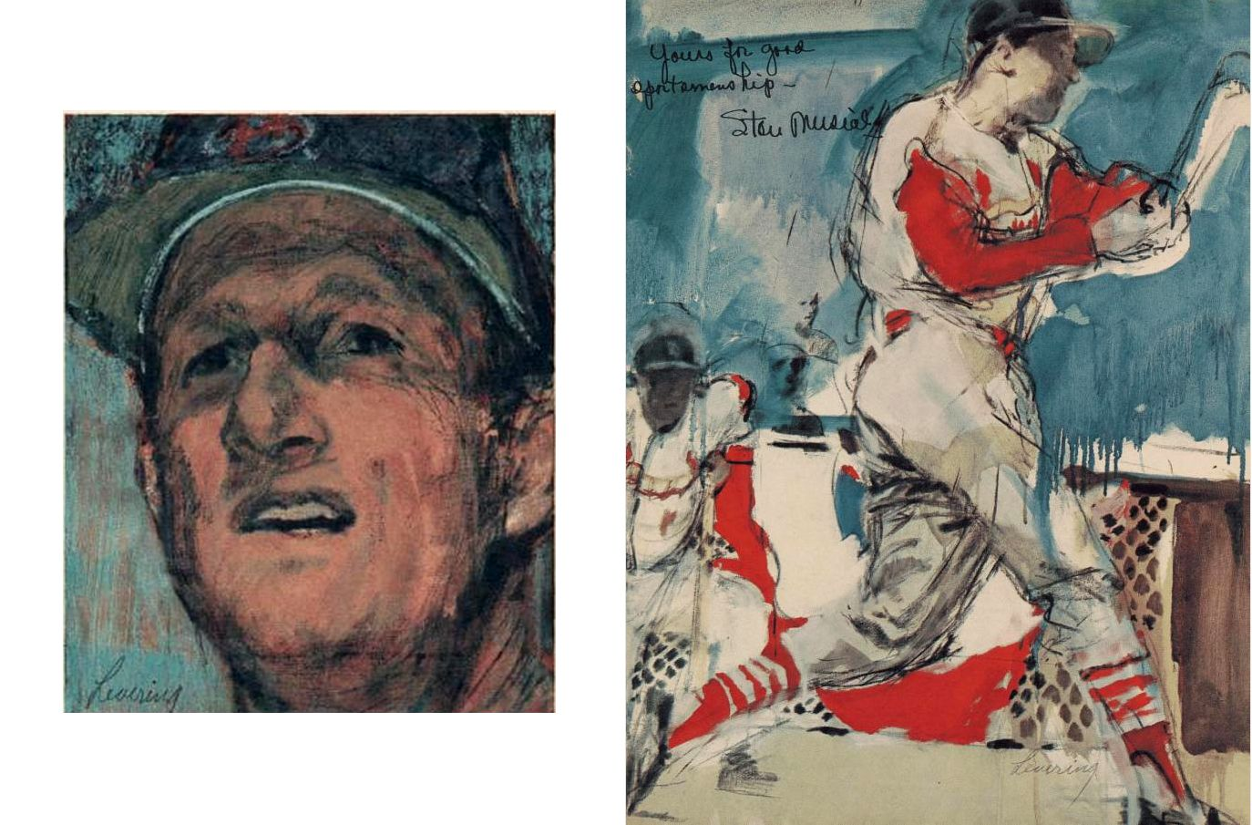 STAN MUSIAL by Bob Levering