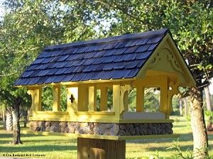 Love this !Backyard Bird Company Covered Bridge Birdfeeder ...