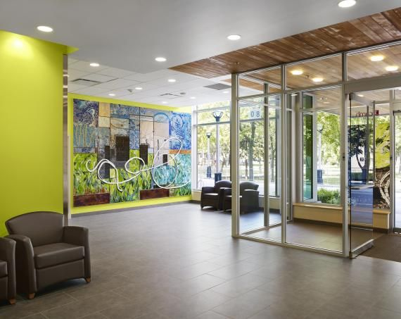 Center for addiction and mental health designed by stantec and c4 architects