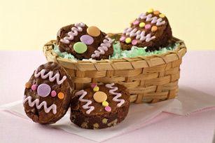 BAKER'S ONE BOWL Easter Egg Brownies recipe