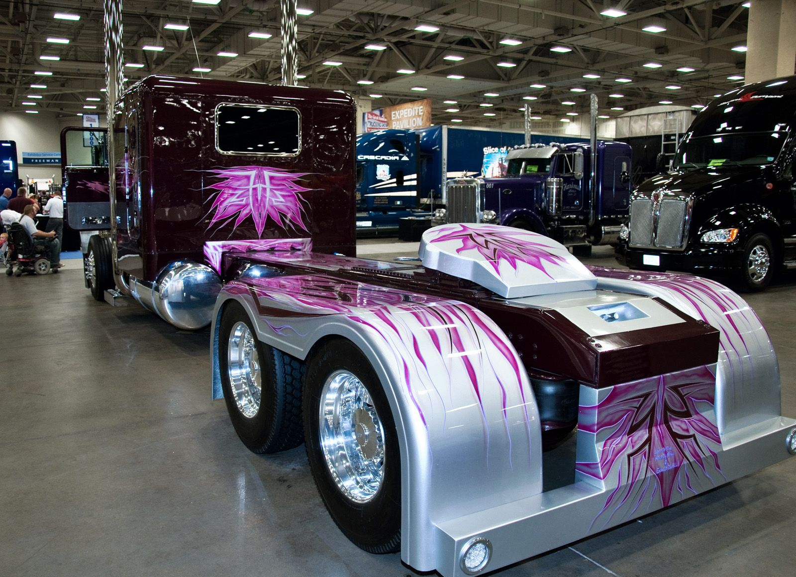 Photo : The Great American Trucking Show 2011. Dallas, Texas.
