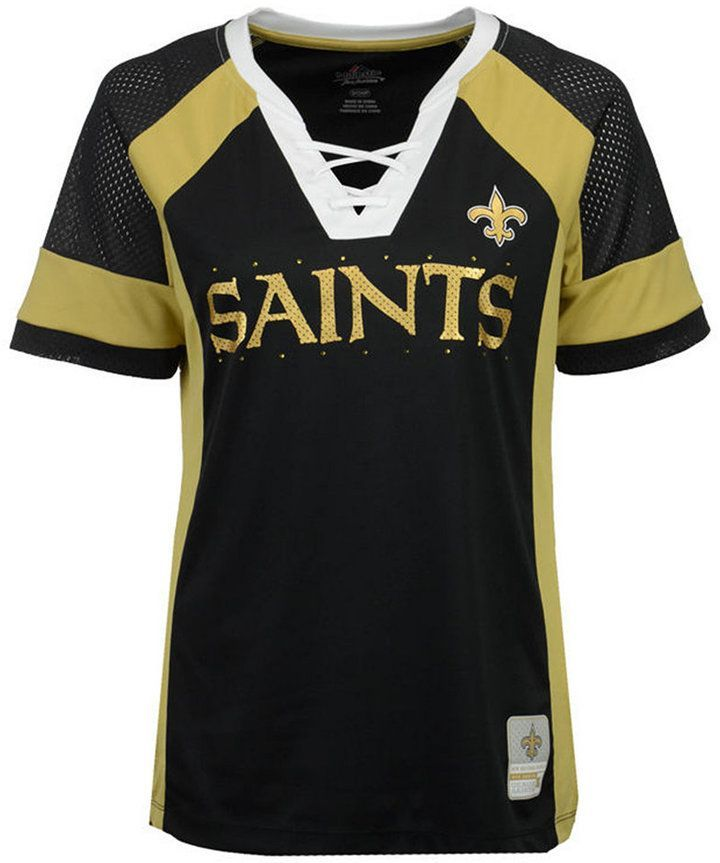 3b603ded Majestic Women's New Orleans Saints Draft Me T-Shirt | Products ...