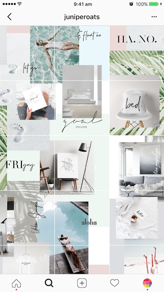 9 Types Of Instagram Grid Layouts Planner Tips Instagram Grid Layout Instagram Theme Layout Cohesive Instagram Feed