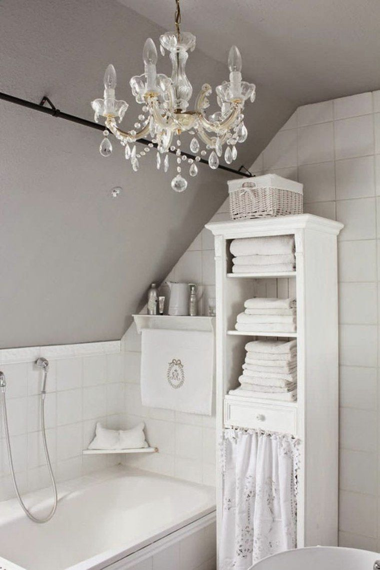 Déco salle de bain rétro: du charme à l\'ancienne | Shabby, Bath ...
