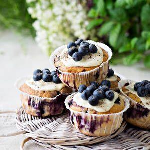 Mustikkamuffinit |K-Ruoka