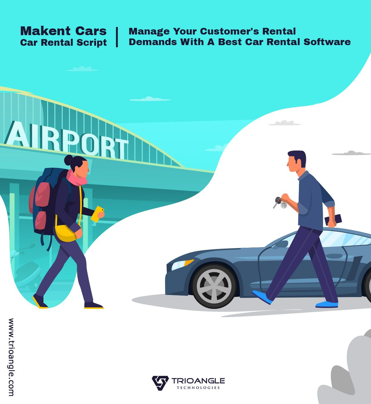 Airbnb For Car | Trioangle MakentCars - Airbnb for cars | Car rental