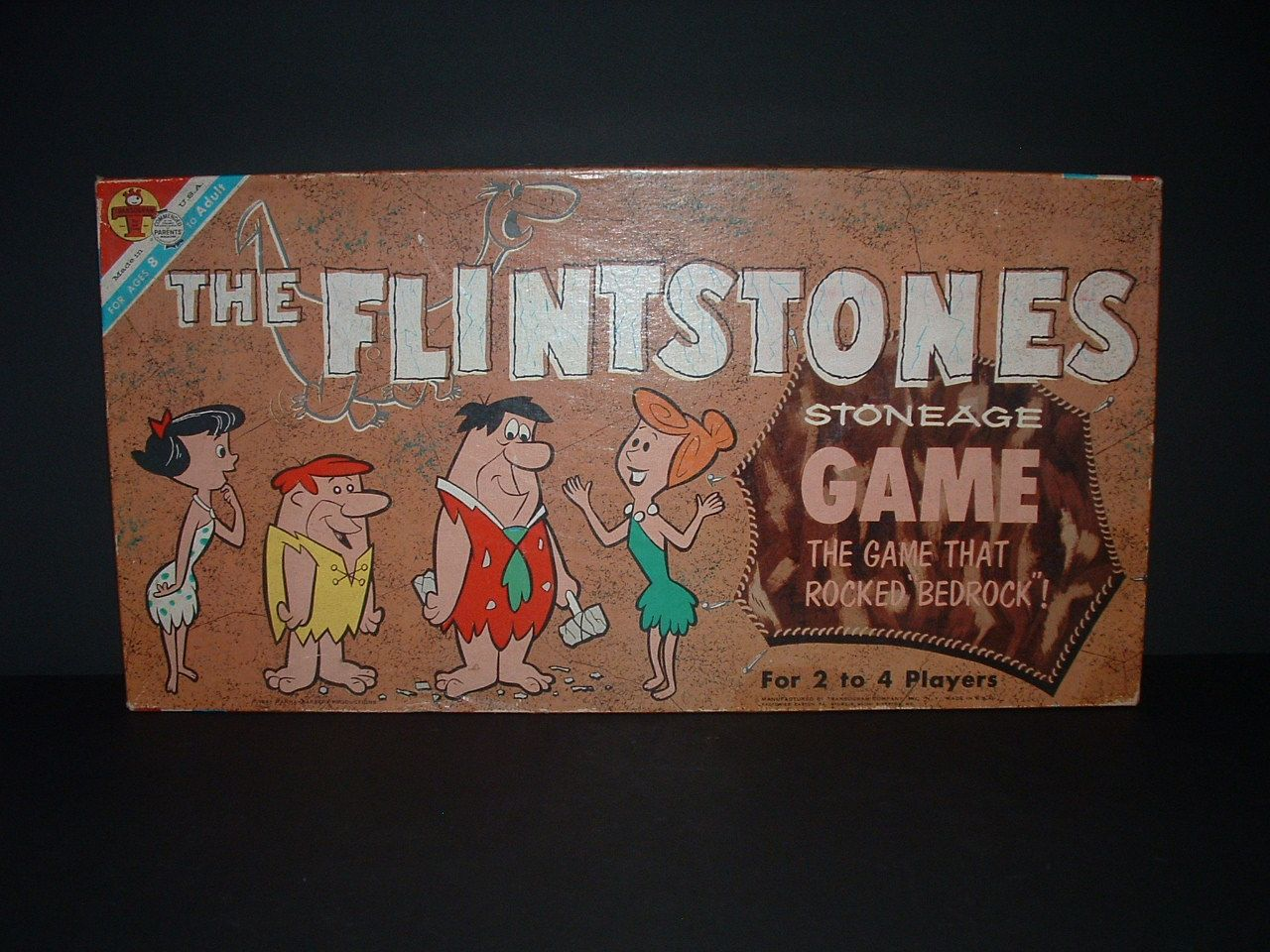 The first Flintstone game - 1961