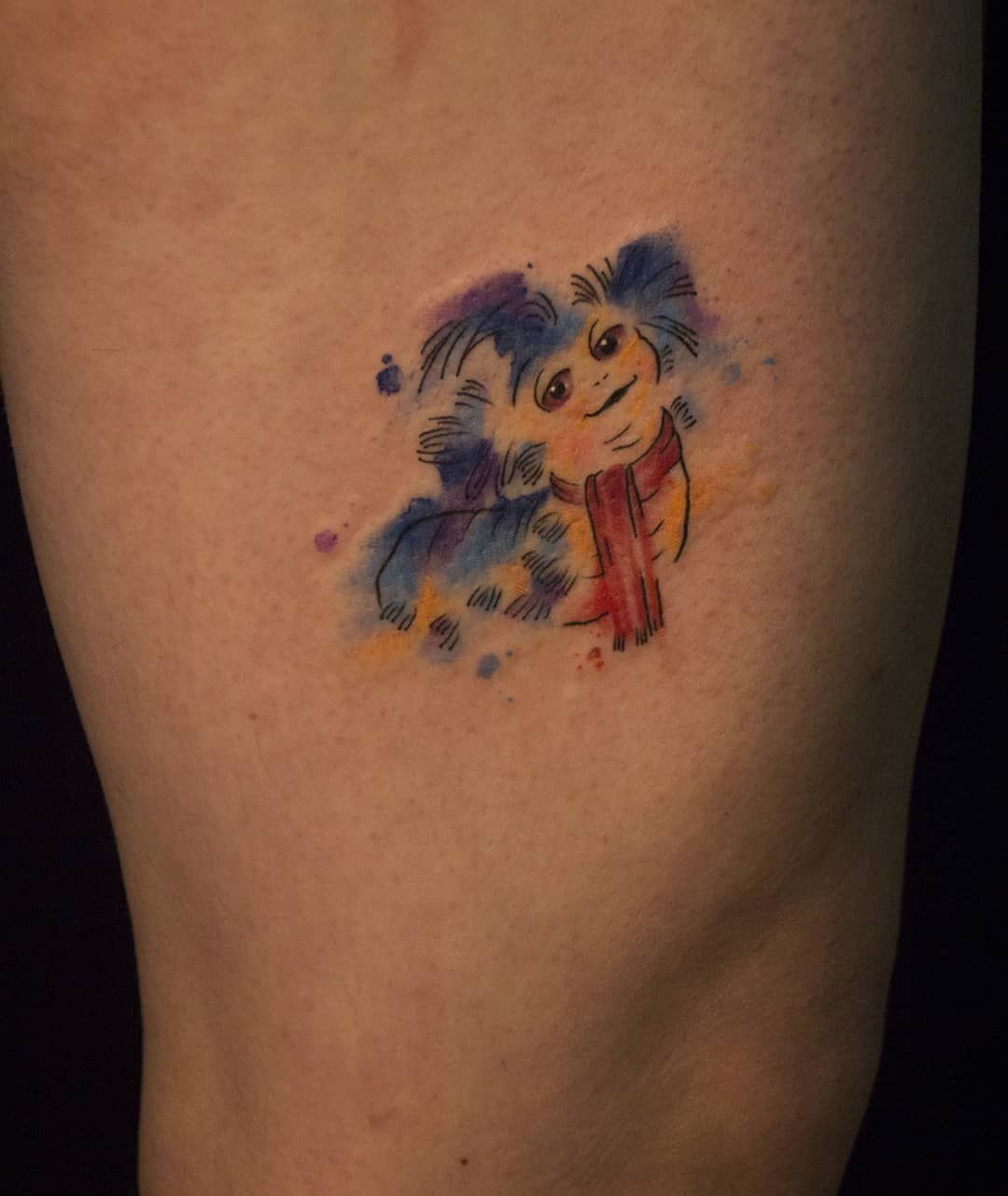 """Simple Labyrinth Movie Tattoo: ṀΛΨΛ ꓄ꍏ꓄꓄ꂦꂦ ꍏꋪ꓄ On Instagram: """"Watercolor Worm From The"""
