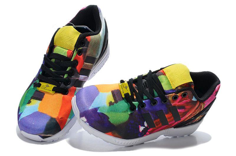 adidas Originals ZX Flux Womens Running Shoe Multi-Color