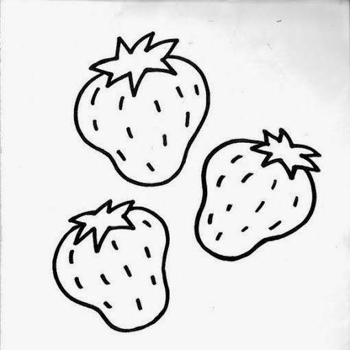 Beolvasas0048 Jpg 510 510 Pixeles Fresas Dibujo Dibujos Ninos De 3 Anos