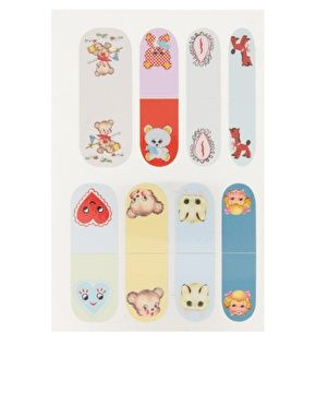 meadham kirchoff nail wraps. Purchased.