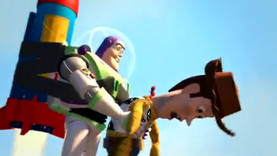 "Remix version of sounds the film ""Toy Story"""