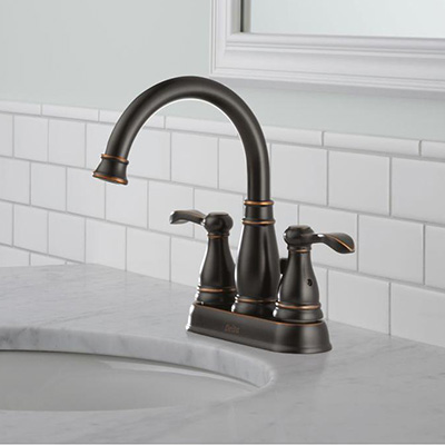 Centerset Sink Faucets With Images Antique Brass Bathroom