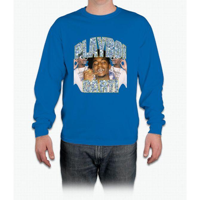 Playboi Carti Vintage Hip-Hop Long Sleeve T-Shirt