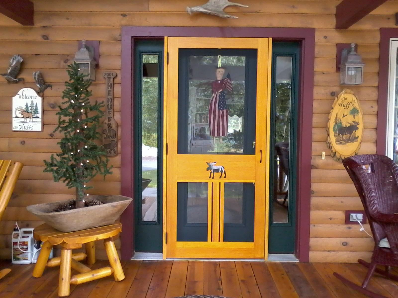 Western Maine Screen Doors Co 207 249 1687 Custom Built Wood