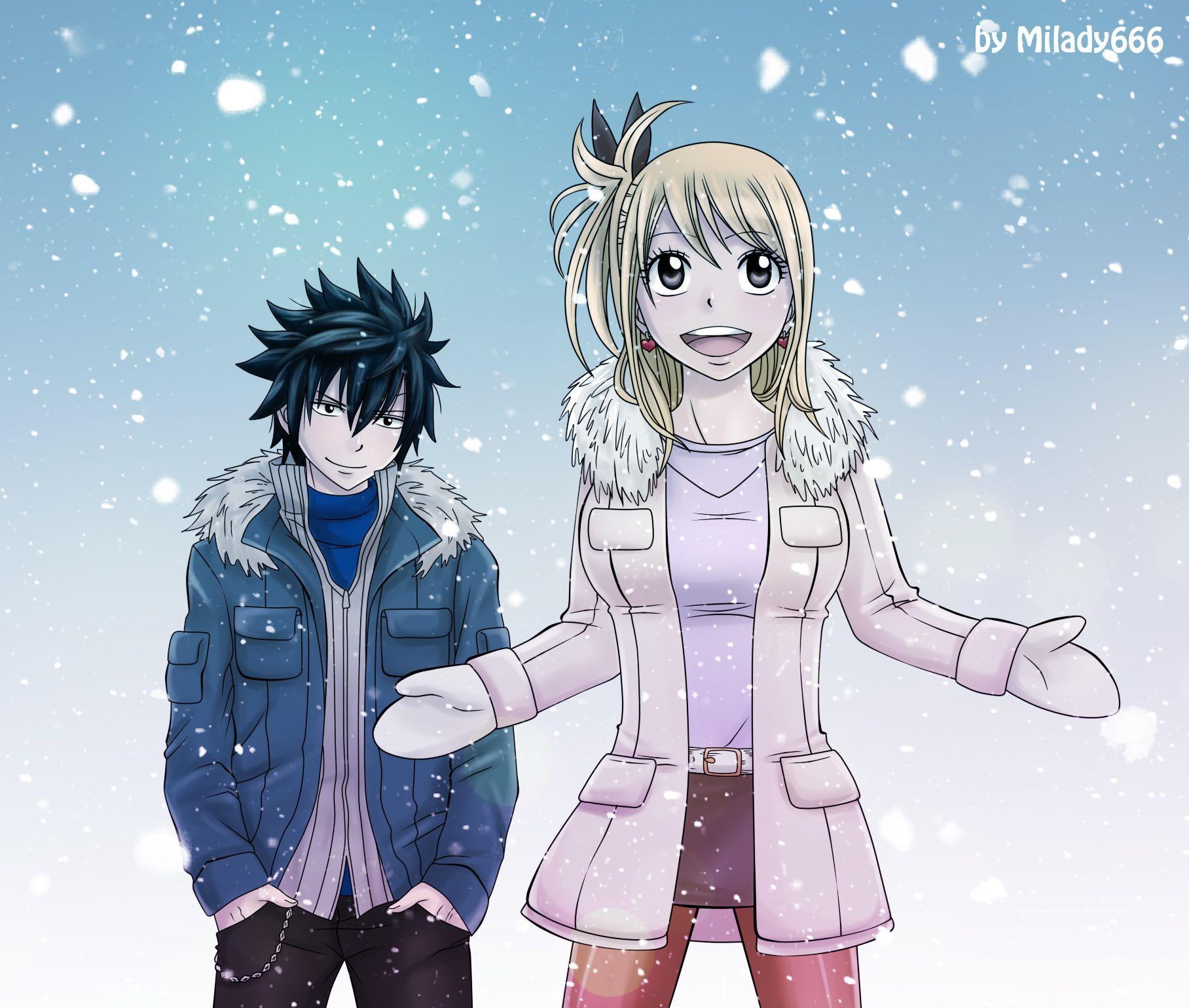 Élégant Dessin A Imprimer Manga Fairy Tail