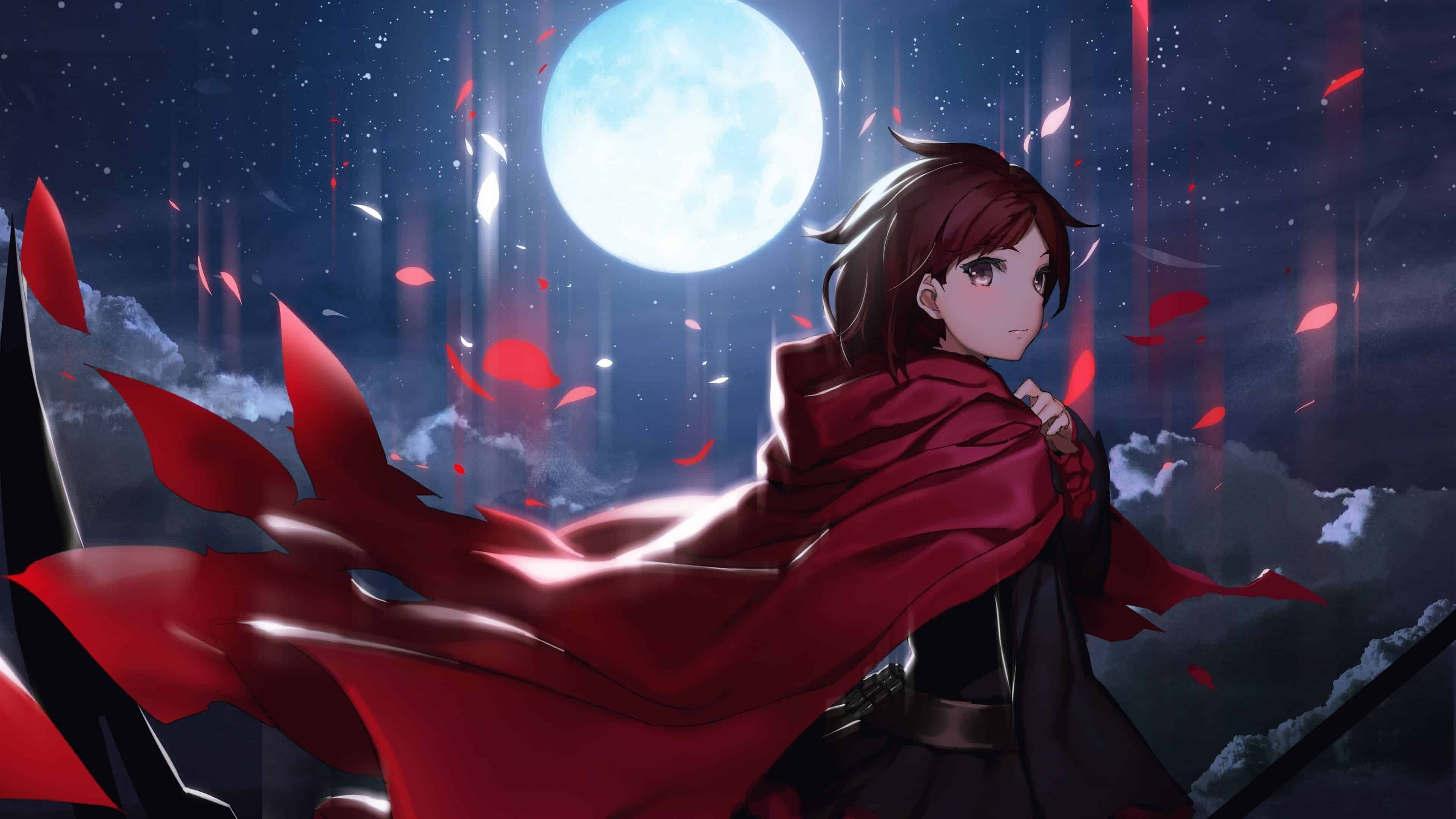 3840x2160 Rwby Ruby Uhd 4k Wallpaper Pixelz Rwby Anime Rwby Wallpaper Rwby
