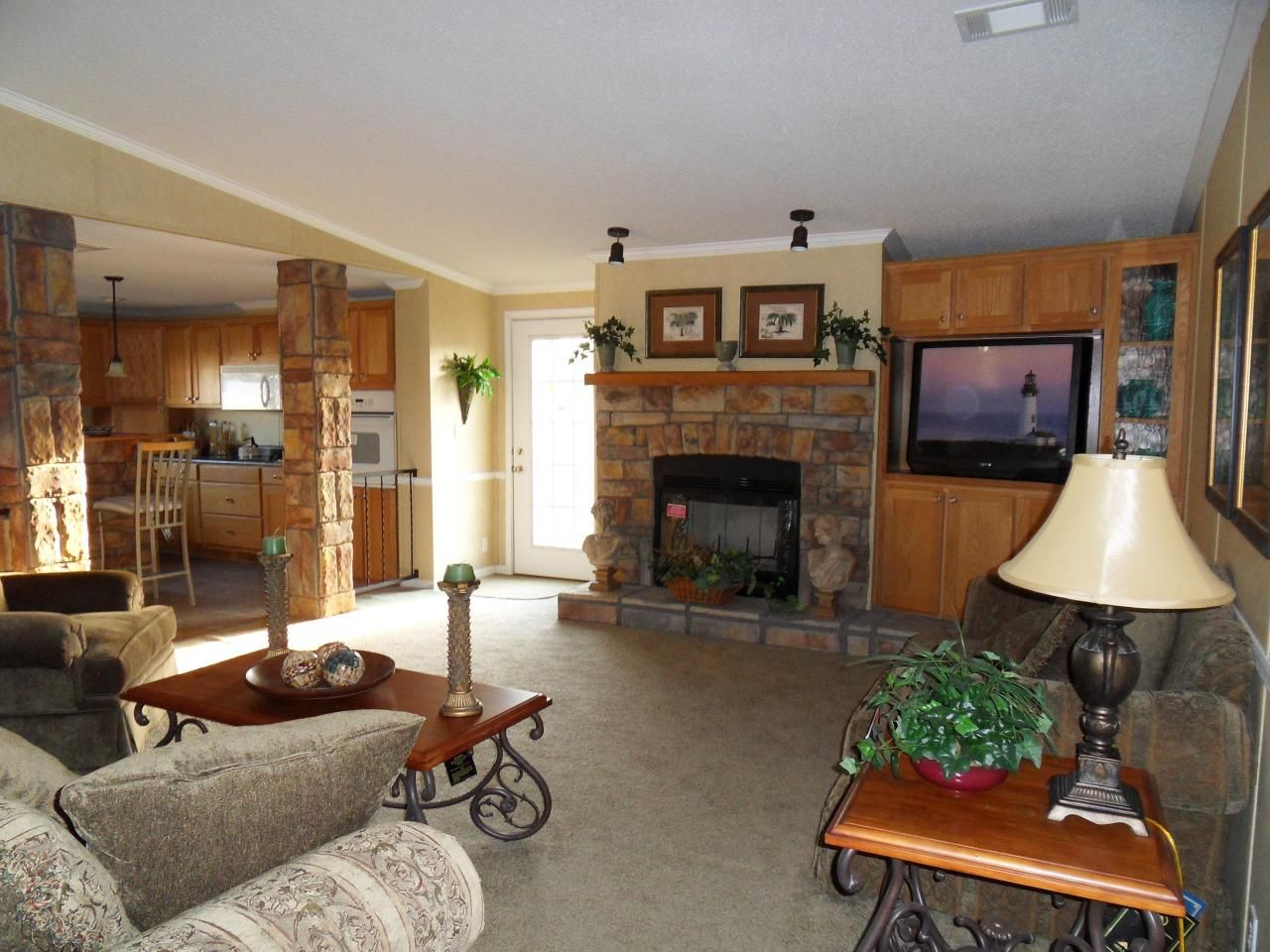 Double Wide Mobile Homes Interior 2135 Square Feet 64 700 Kitchen Pinterest Square Feet
