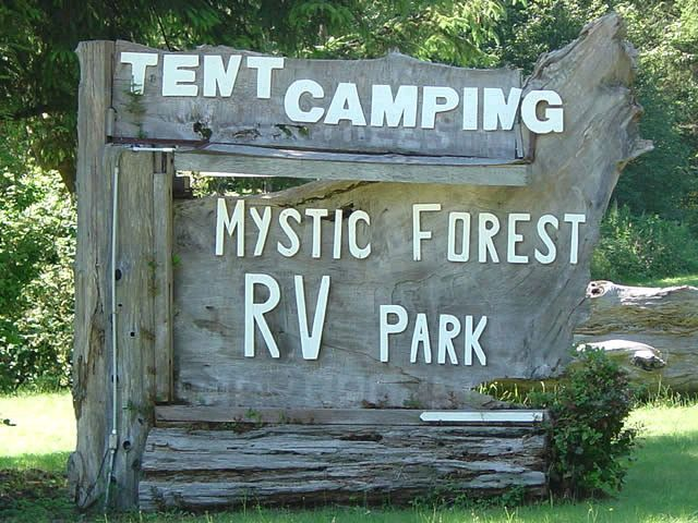 Mystic Forest Rv   RV & Tent Camping   Cabin Rental in ...