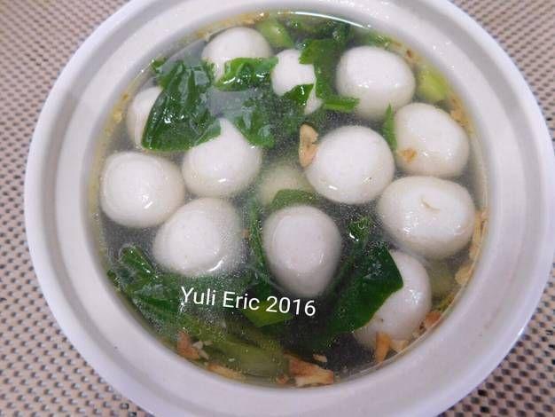 Resep Sup Bakso Ikan Oleh Yuli Eric Resep Sup Bakso Bakso Resep Sup