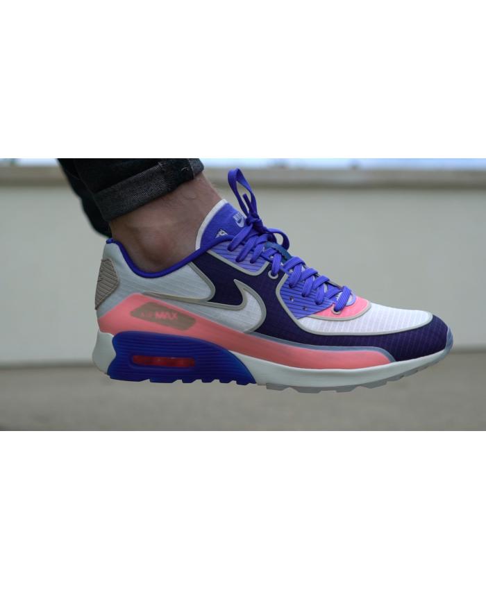 938b4850f5 Men's Nike Air Max 90 Ultra 2.0 SI Sail/Paramount Blue/Binary Blue 881108- 101