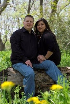 Photo of Maria and Kyle's engagement pictures