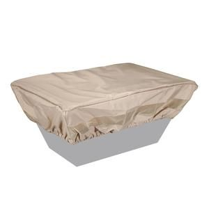 Photo of 52″ x 32″ Fabric Rectangle Fire Pit Cover